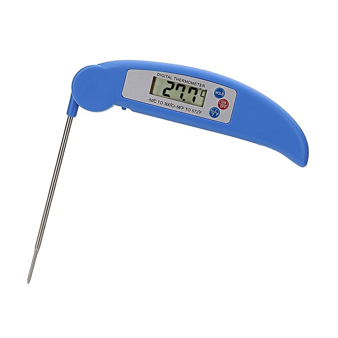Other Folding Digital LCD Kitchen Probe BBQ Thermometer (bleu) (noir) FCJMALL à prix pas cher