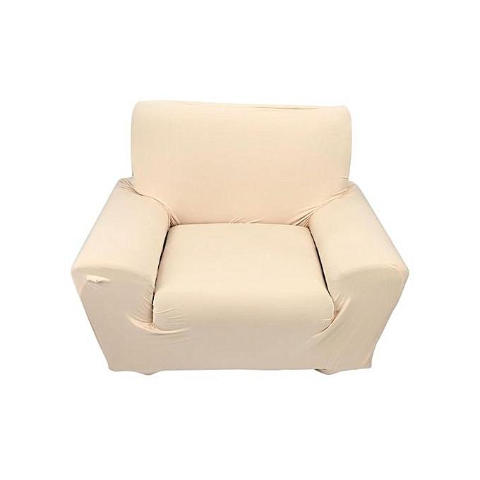 1 seater high elasticity single sofa slipcovers beige for Achat maison casablanca