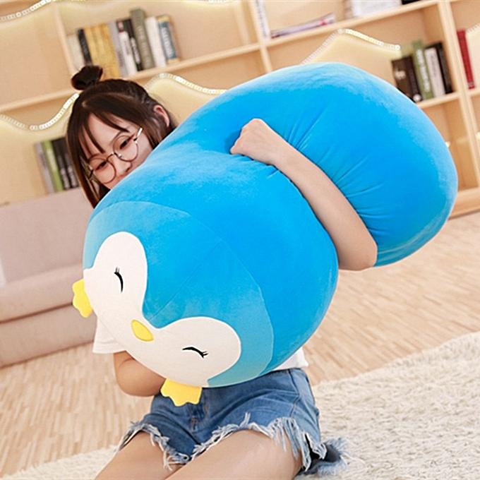 Autre 60 30CM Japanese Super Soft Plush Toys frog&penguin&cat&dog Cartoon Baby Pillow High Quality Christmas Gifts For Kids(bleu penguin) à prix pas cher