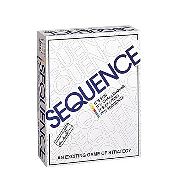 Generic Party Games Sequence Playing Cards Game Strategy à prix pas cher