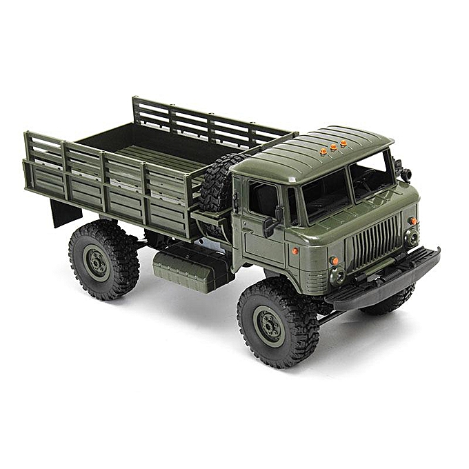 OEM WPL WPLB-24 1 16 RTR 4 WD RC Military Truck 2.4GHZ bleu vert à prix pas cher