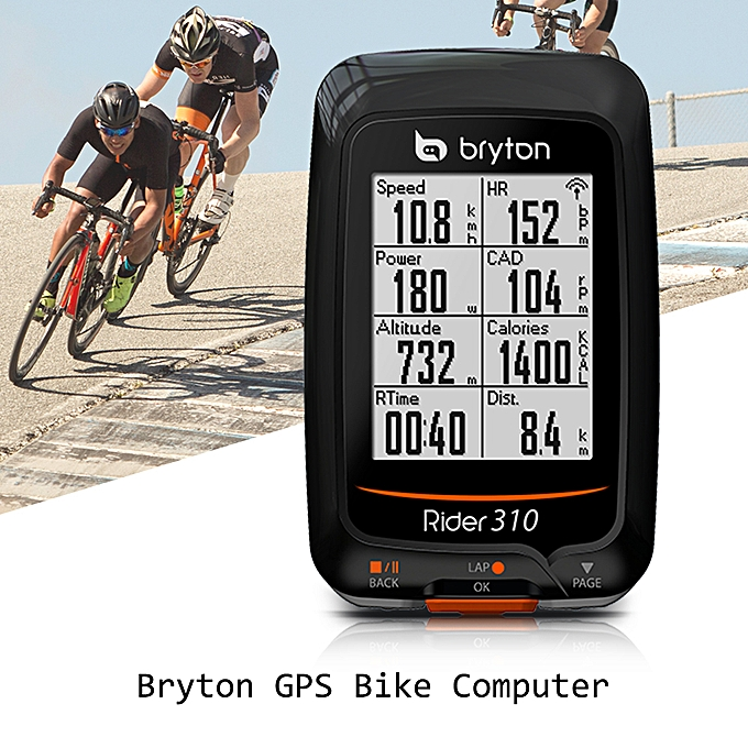 Other Bryton GPS Cycling Computer Rechargeable IPX7 Water Resistant Bike Cycling Cycle Bicycle GPS Computer Odometer with Mount à prix pas cher