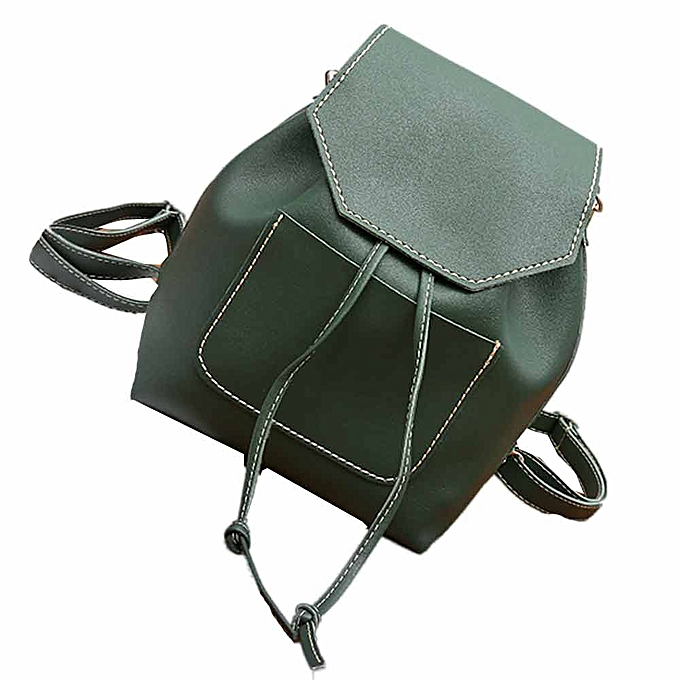 mode whiskyky store femmes mode cuir voyage Satchel pendentif School sac sac à dos sac - vert à prix pas cher