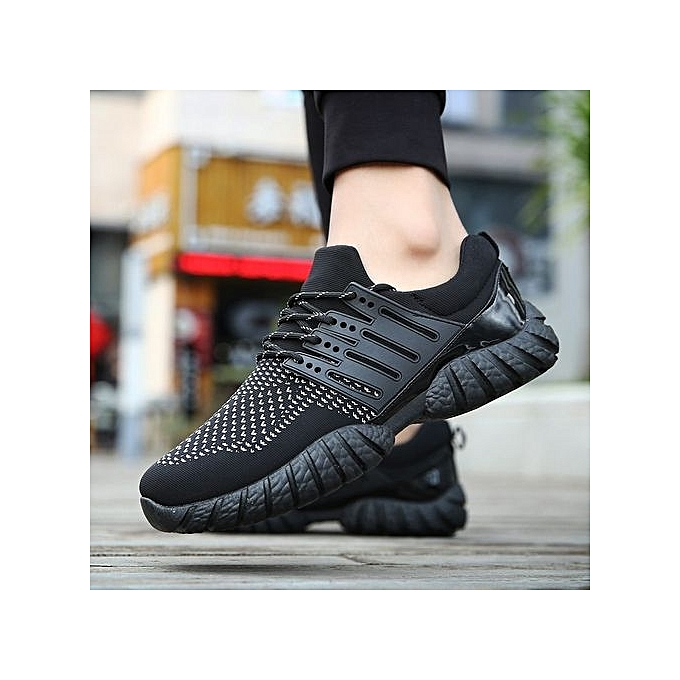 Fashion 2017 New Air Cushion Running Shoes Shoes Running For   Breathable Sport Shoes   Sneaker - Black à prix pas cher  | Jumia Maroc 0fb2fc