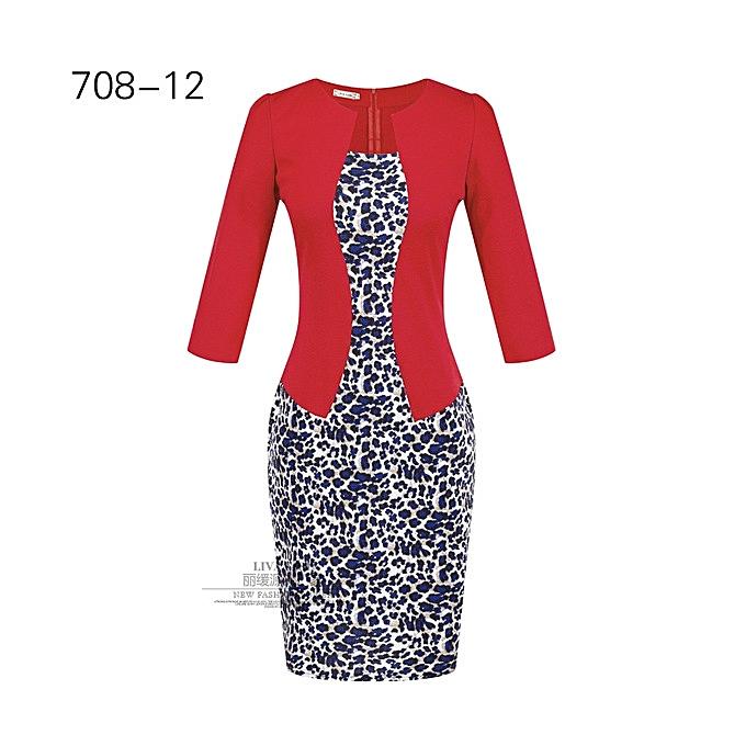 OEM New arrivel Wohommes professional bag hip pencil fashion comfortable dress-12 à prix pas cher
