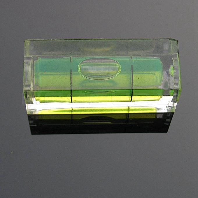 Autre (10 pieces lot) Taille 151540mm Photo frame wall Level Square Level measurement instrument Bubble spirit level(vert) à prix pas cher