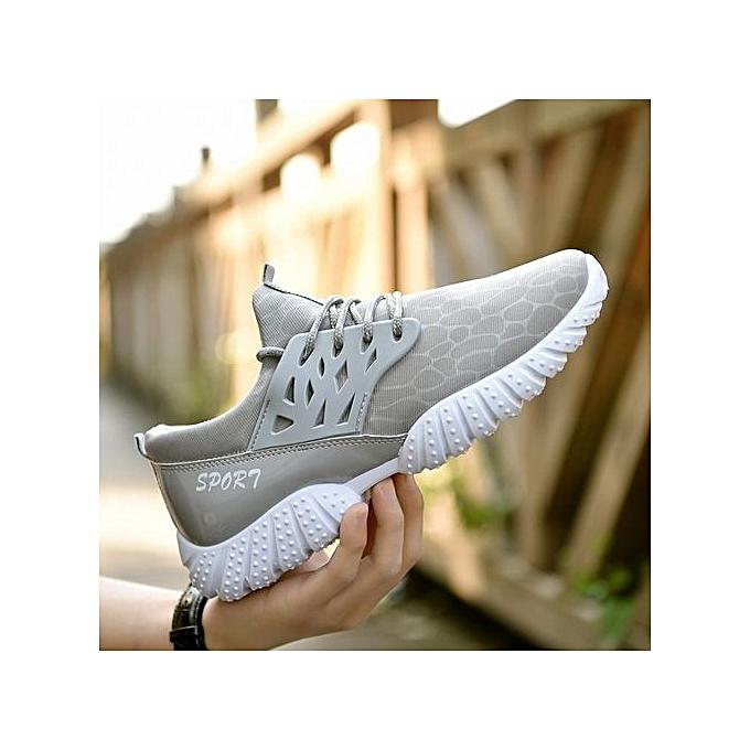 Fashion Light Wearable LiNing Sports Sports LiNing Shoes Breathable Anti-Slip Sneakers-Gris  à prix pas cher  | Jumia Maroc d8744d