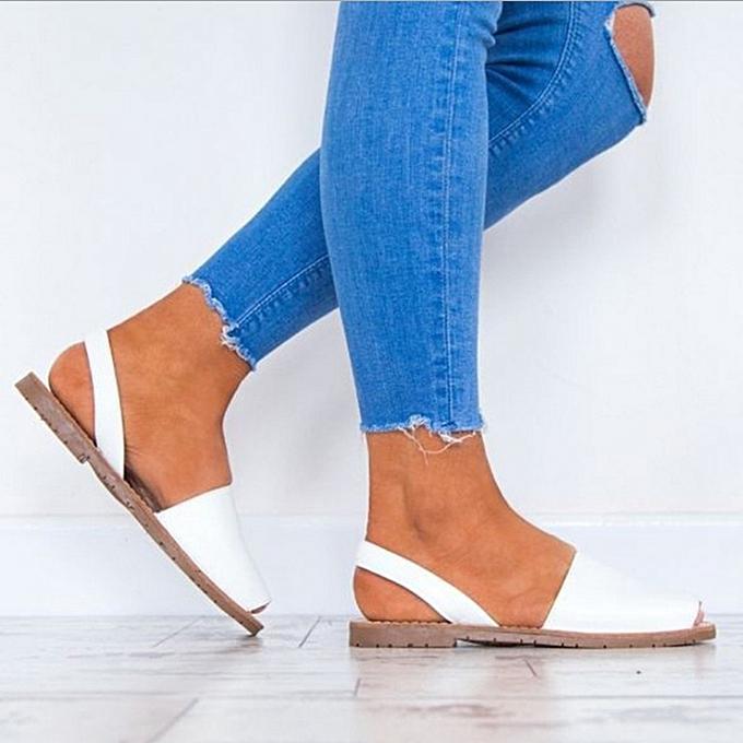 Fashion femmes Summer Fish Mouth Slip On Sandals chaussures à prix pas cher    Jumia Maroc