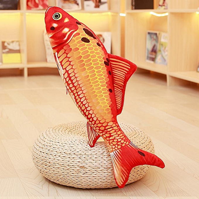 Autre Koi Plush Toys Stuffed Soft Fish Doll Soft Koi PilFaible Plush orfish Cushion Cat's Toys (D) à prix pas cher