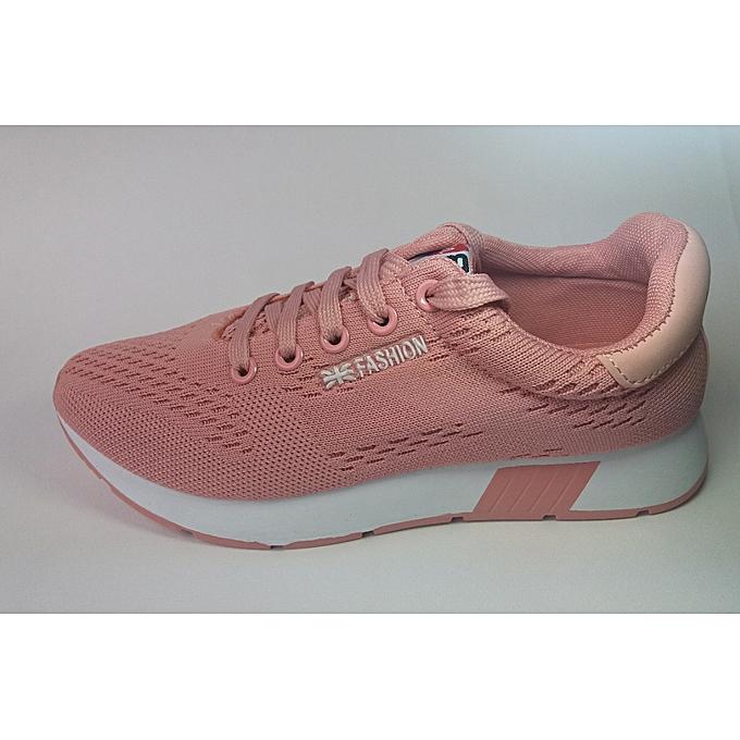 cd78a10f382 Fashion Chaussures Marche Sportive Femme Rose à prix pas cher ...