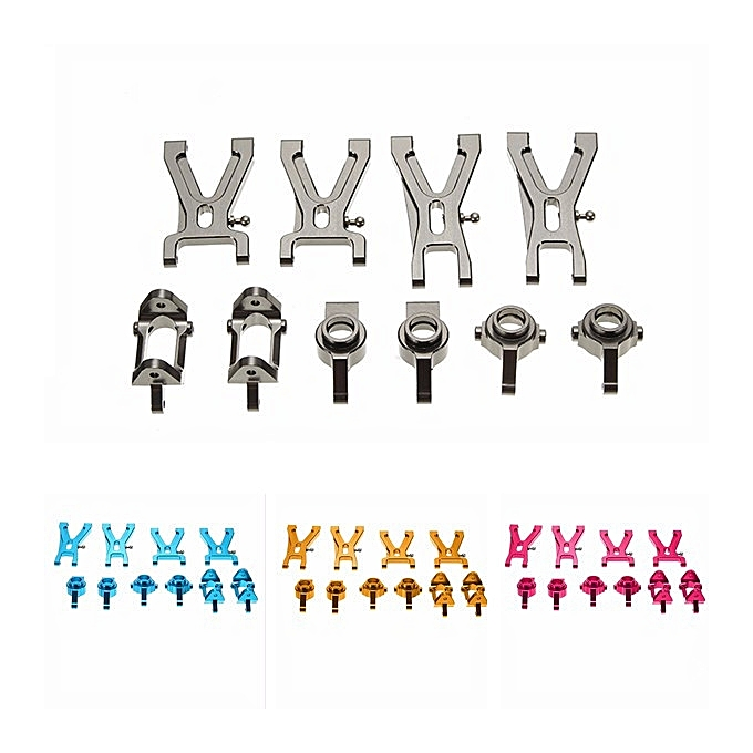 Wltoys WLtoys A959-B A979-B A969 A979 K929 Upgrade Metal Parts Package Suspension Arm Steel sacue Wheel Hub-or à prix pas cher
