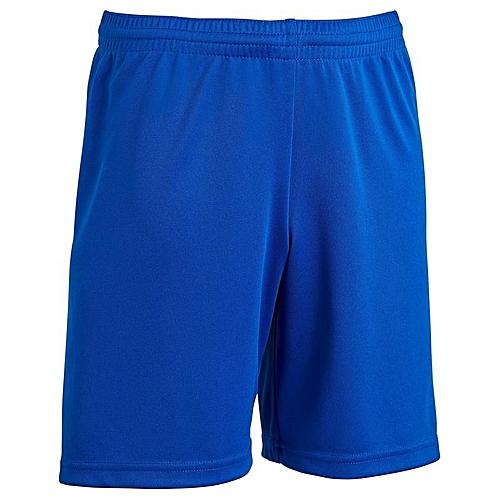 Short Football F100 Bleu Enfant Indigo De 35jLAR4