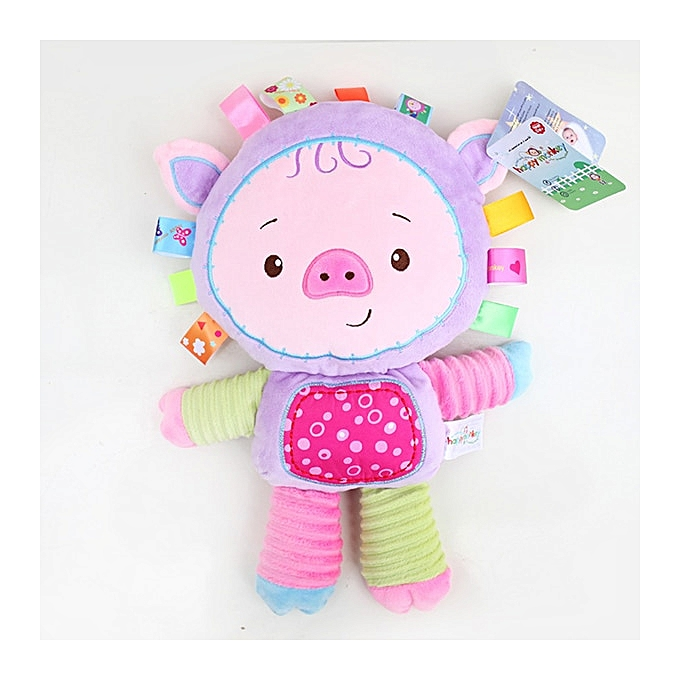 Autre nouveau arrival   toy  Comforting doll with BB rattles Toys for   0 13 years  play  Appease dolls WJ199(Pig) à prix pas cher