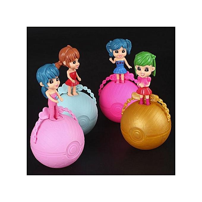 Generic 4 Set Surprise Doll 1Lil Sisters Ball 7 Layers Series Surprise Enfants Xmas LOL à prix pas cher