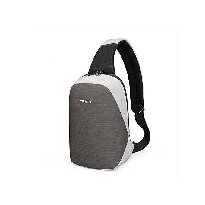 Generic High quality mode Décontracté voyage mode Cross Body Shoulder sac gris à prix pas cher