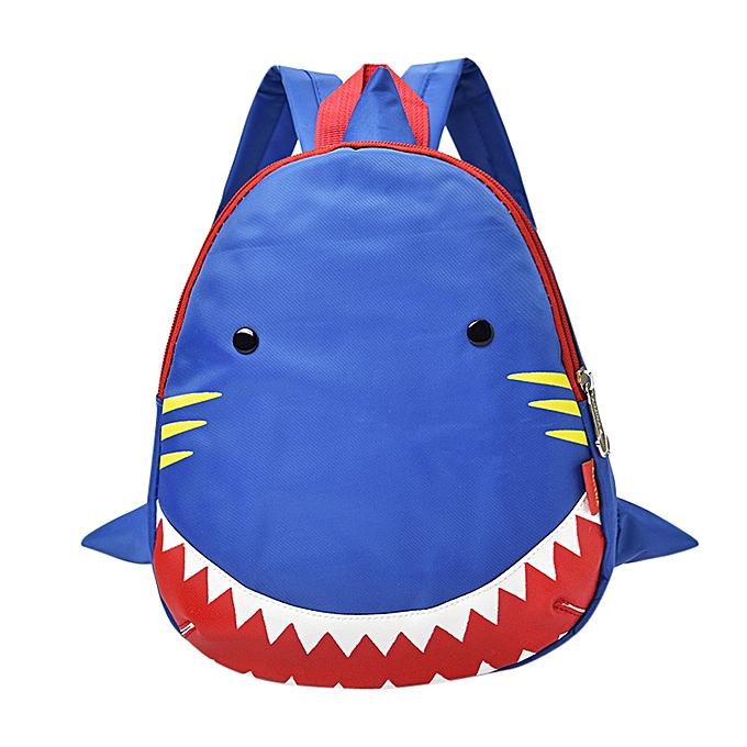 mode Tcetoctre   garçons Girls Enfants Shark Pattern Animals sac à dos Toddler School sac-bleu à prix pas cher