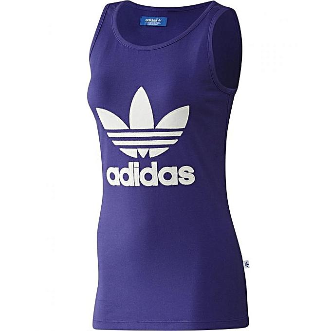 Adidas Adidas Débardeur pour Femme Violet à prix pas cher