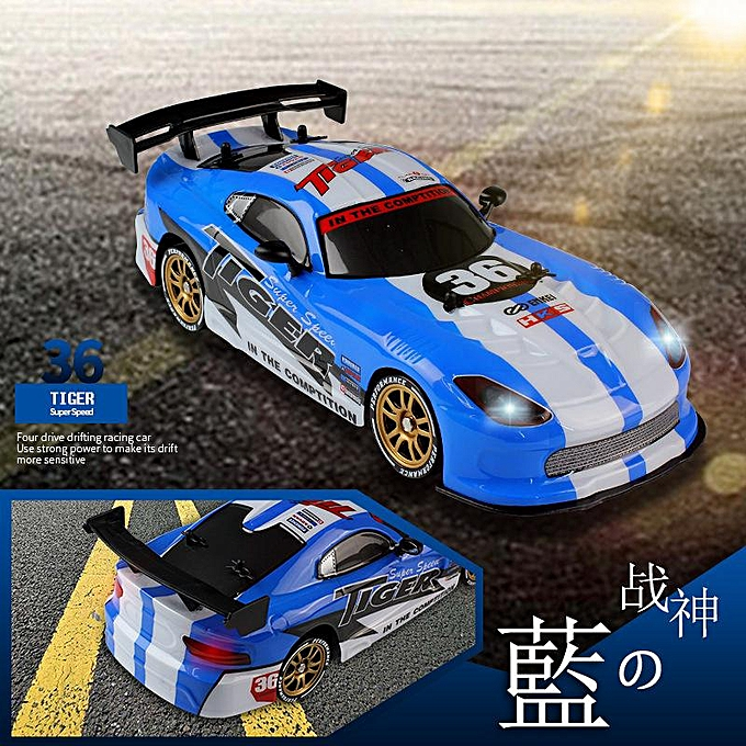 OEM The Old Tree 1 16 RC Drift Car Cool LED Light USB 2.4G High Speed Remote Control Racing Car à prix pas cher