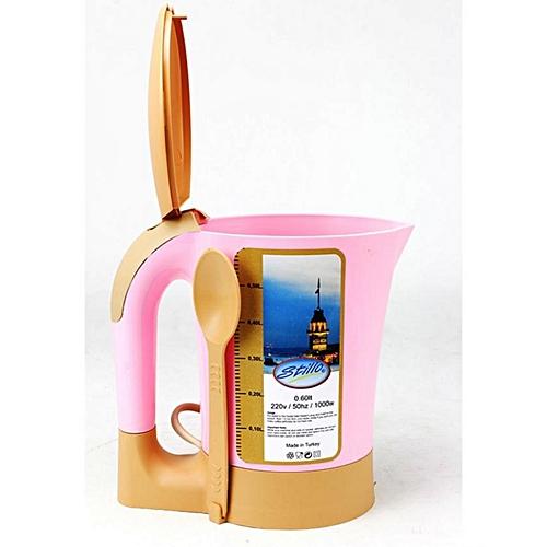 T. DECO Mini Bouilloire électrique - Rose au Maroc pas cher | Jumia ...