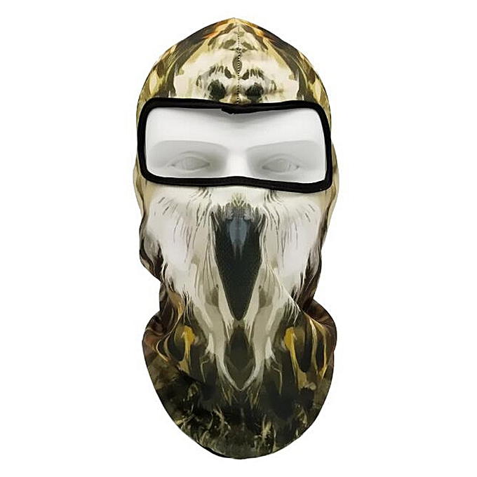 Autre Face Shield Animal Mask Hood Mask anti Wind Sand Breathable Men femmes Outdoor Riding Collar Sleeve Towel Balaclava Car Styling( J) à prix pas cher