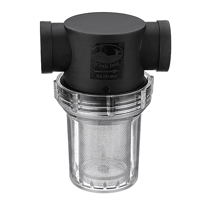 UNIVERSAL Transparent Inline Mesh Strainer Water Filter Irrigation Connector 6 40 à prix pas cher