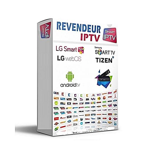 Black IPTV Pack Revendeur iptv – Smart iptv, Mag, Android, VLC, KODI,  Enigma 2…