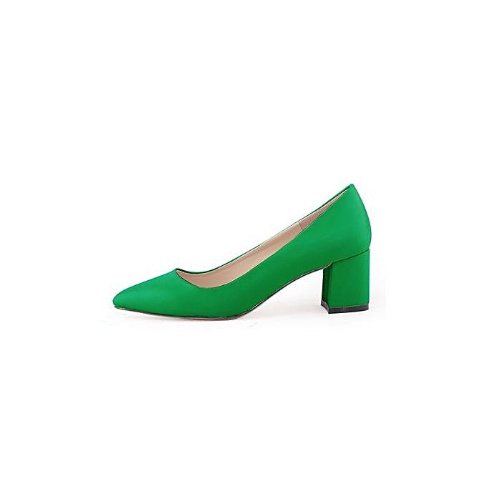 Generic Sandals talons hauts Pumps Stiletto 5cm-vert à prix pas cher