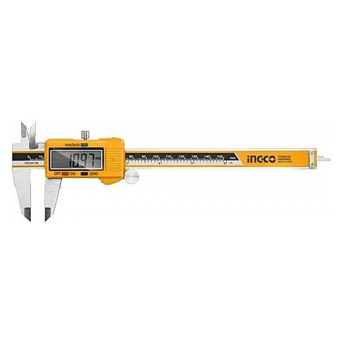 INGCO Pied à coulisse digital      0-150mm à prix pas cher