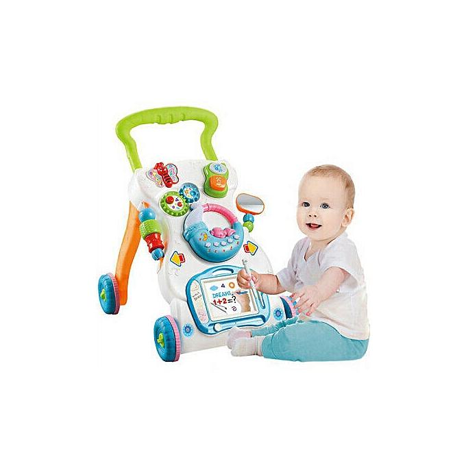 123 Musique multi-fonctionnelle pour enfants Walker Early March Learning Learning Toy à prix pas cher