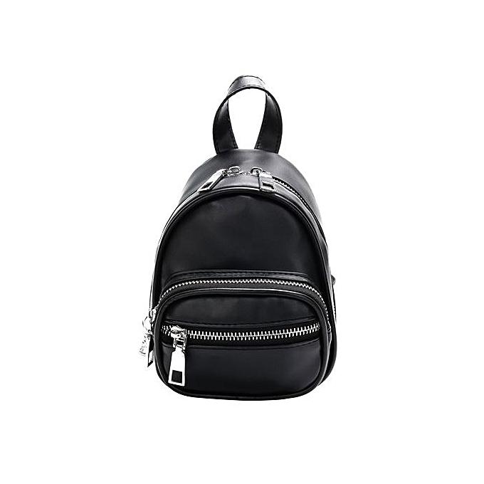 mode Tectores femmes Pure Couleur cuir bandoulière sac sac à dos voyage Shoulder sac Chest sac à prix pas cher