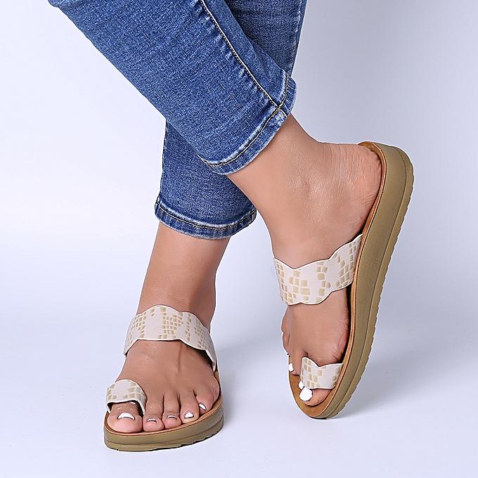 Fashion femmes Casual Clip Toe Platform Slippers à prix pas cher    Jumia Maroc
