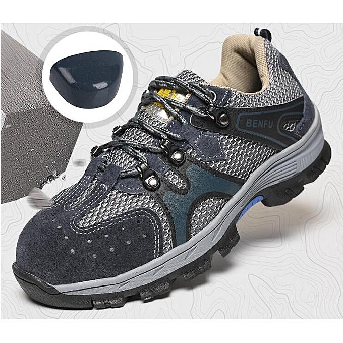 Fashion Men's chaussures Steel Toe Work baskets Hiking Climbing bottes à prix pas cher