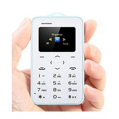 Carte Bancaire Sur Telephone.Aiek Telephone Ultra Mince Taille Carte Bancaire Bleutooth Alarme