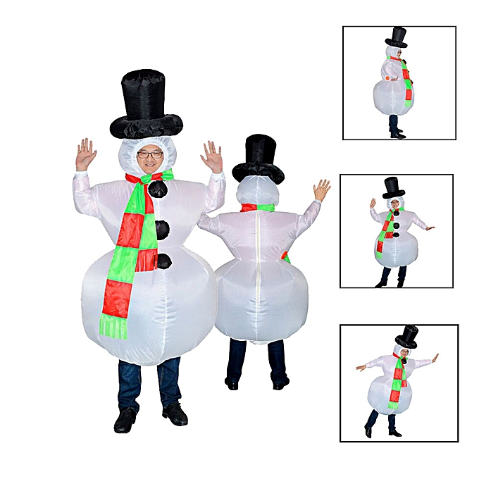 Generic Party Uniforms Inflatable Inflatable voiturenival Costumes Christmas Snowm  Cosplay à prix pas cher
