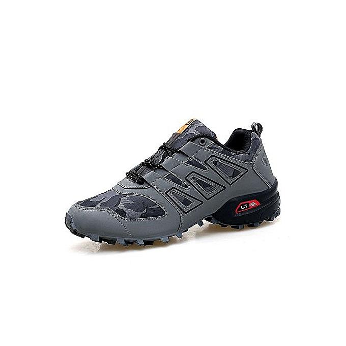 Other Hommes's de plein air respirant engrener Mountaineebague chaussures Sports chaussures-gris à prix pas cher