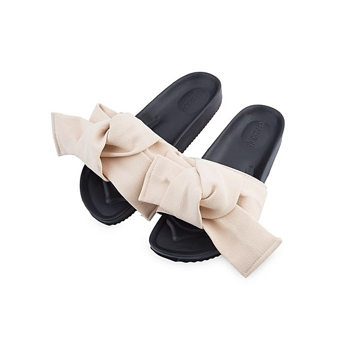 Fashion Cute Cute Fashion   Over  Bowknot Design Skid Resistance Flat Beach Slippers à prix pas cher  | Jumia Maroc 5d4687