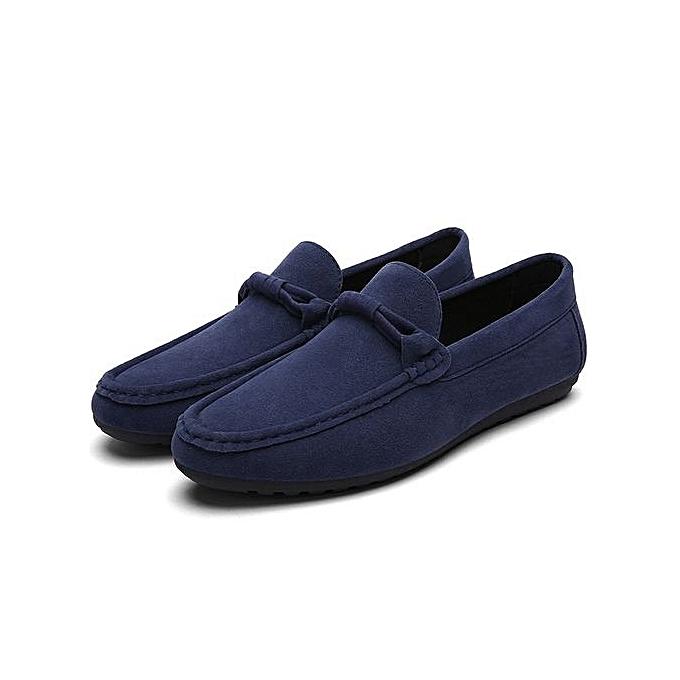 HT  s Soft Loafer Flats Comfy prix Driving Shoes -Blue à prix Comfy pas cher  | Jumia Maroc d3465a
