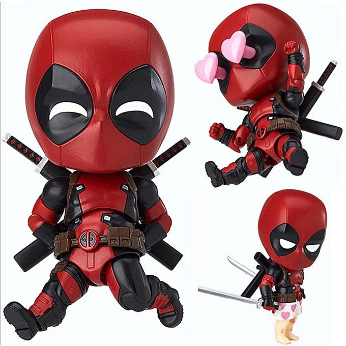 Autre Q Version Deadpool Action Figure Toy voiture Furnishing Articles Model Doll à prix pas cher