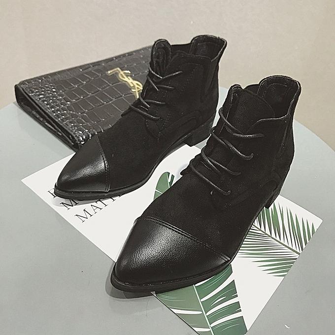 Autre Autumn and Winter WoHommes 's Martin's Sharp Top Martin's 's Boots à prix pas cher  | Jumia Maroc 8d2326