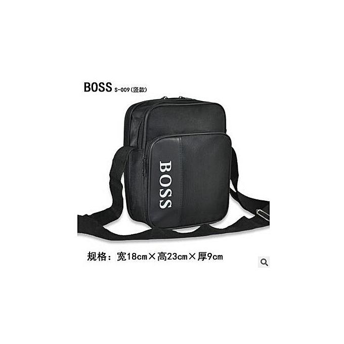 Other 2019 New Men Handbag Messenger Crossbody Bags Handbag Casual Belt Men's Rravel Bags Nylon Ultralight Package Bags(noir) à prix pas cher