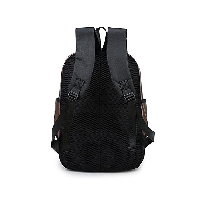 Generic Vintage sac à dos voyage cuir Handsac sac à dos Shoulder School sac BW à prix pas cher