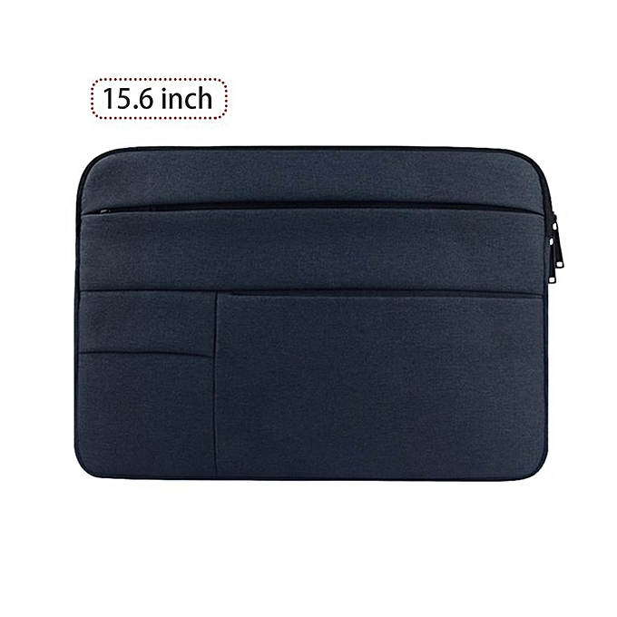 Generic Computer sac Multifunctional Computer Sleeve imperméable Computer Case Holder dark bleu à prix pas cher