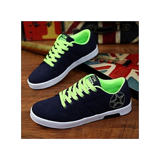Fashion 2017 New Fashion  's Low Top    's Sneaker High Quality Leather Casual Black Shoes01Noir  Shoes01-Noir  Green à prix pas cher  | Jumia Maroc 374f5f
