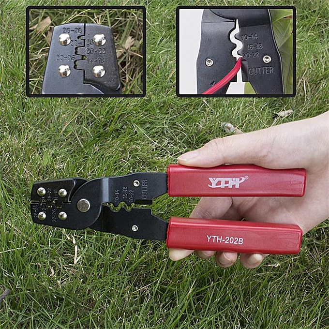 Autre YTH Crimper hand tools nippers FOR RG179 RG174 RG316 SMA SMB MCX TNC SMC hex Coating Crimping Pliers Terminal clamp Cable tool(YTH-202B) à prix pas cher