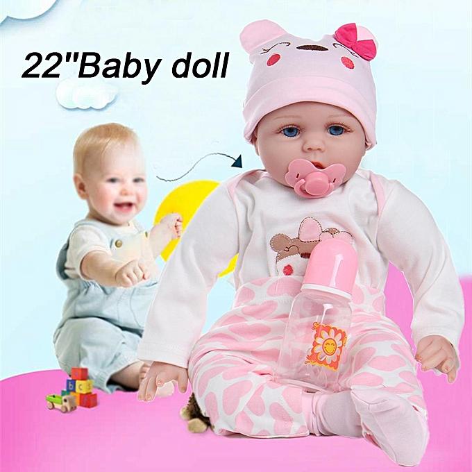 Autre 22 &   x27; &   x27;Main poupée bébé nouveau-né réaliste corps complet vinyle vinyle rené cadeau à prix pas cher