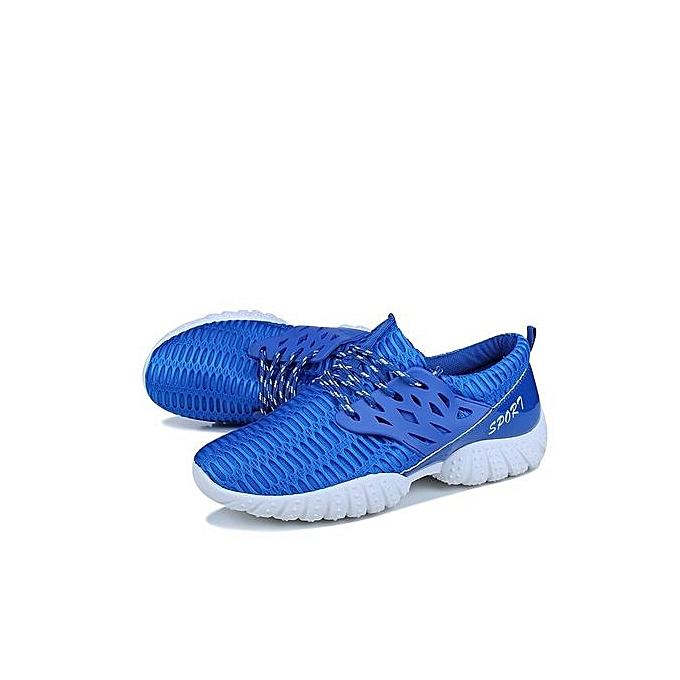 Zant New New Zant Pattern Korean Sports Shoes Casual  's Running Shoes Travel Shoes Ventilation (Blue) à prix pas cher  | Jumia Maroc 0cc222