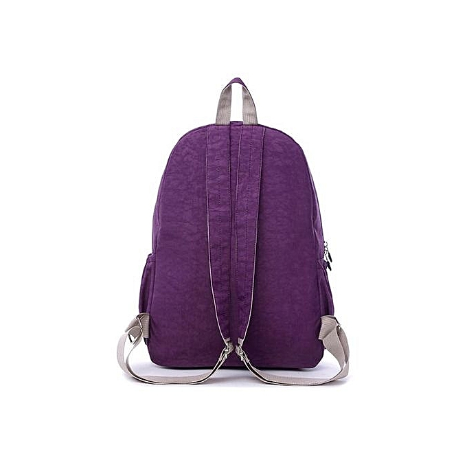 Generic Waterproof Nylon Travel Satchel Shoulder Bag Backpack School Rucksack PP à prix pas cher