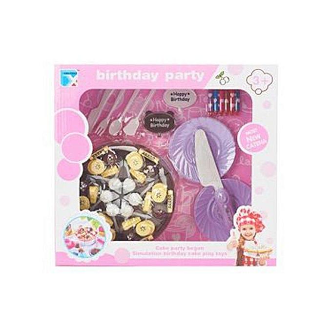 Autre UR Creative Cake Toy Set Bébé Enfants Jouet Non-toxique Début Éducatif Jouet783699 à prix pas cher