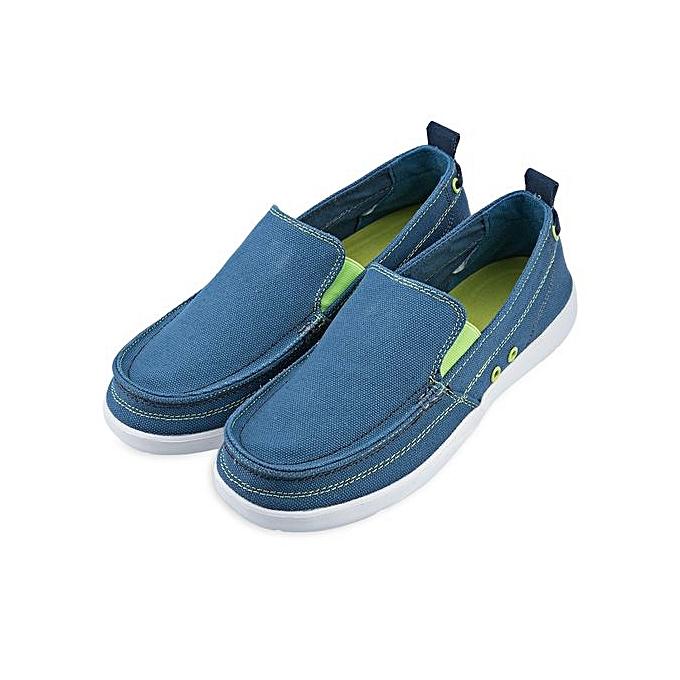 Fashion Male Simple Design Denim Cloth Pure Color Canvas Shoes Shoes Canvas à prix pas cher  | Jumia Maroc 42612d