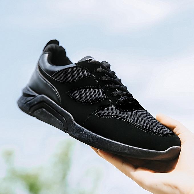 Autre Summer Breathable Mesh Sports chaussures noir Running chaussures à prix pas cher